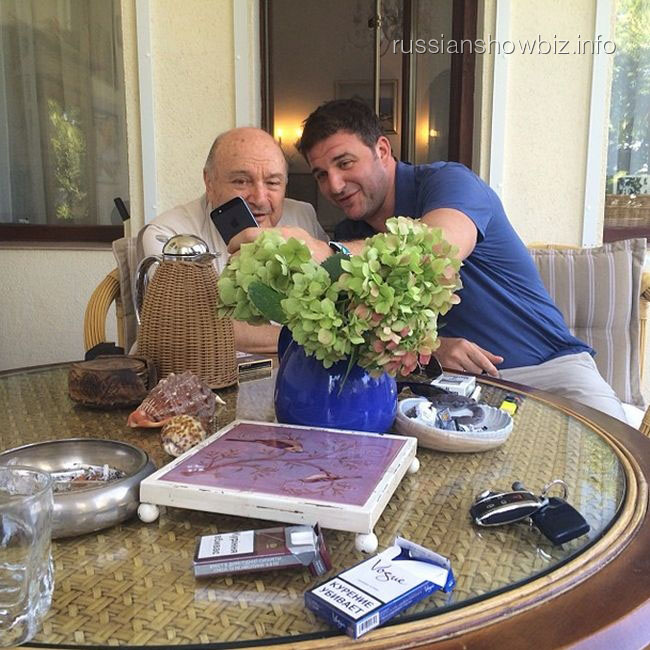Максим Виторган и Михаил Жванецкий