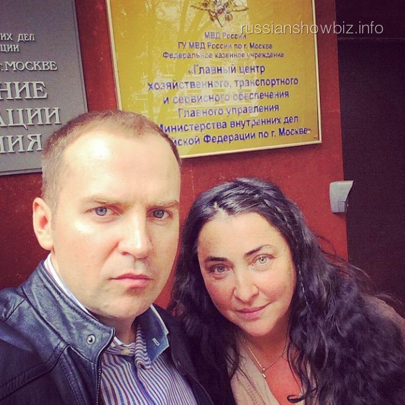 Сергей Жорин и Лолита Милявская