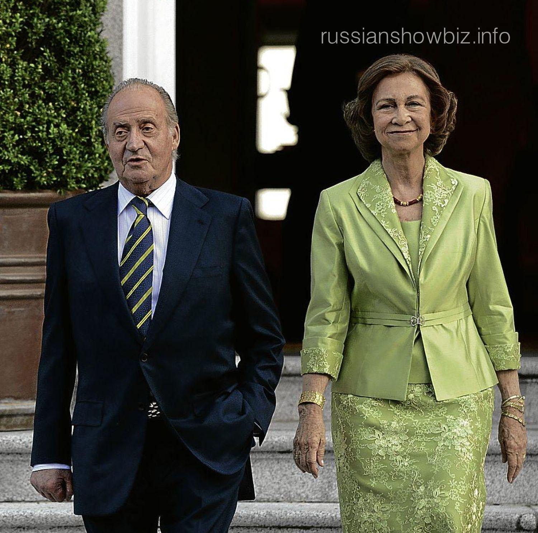 Хуан Карлос I и королева София