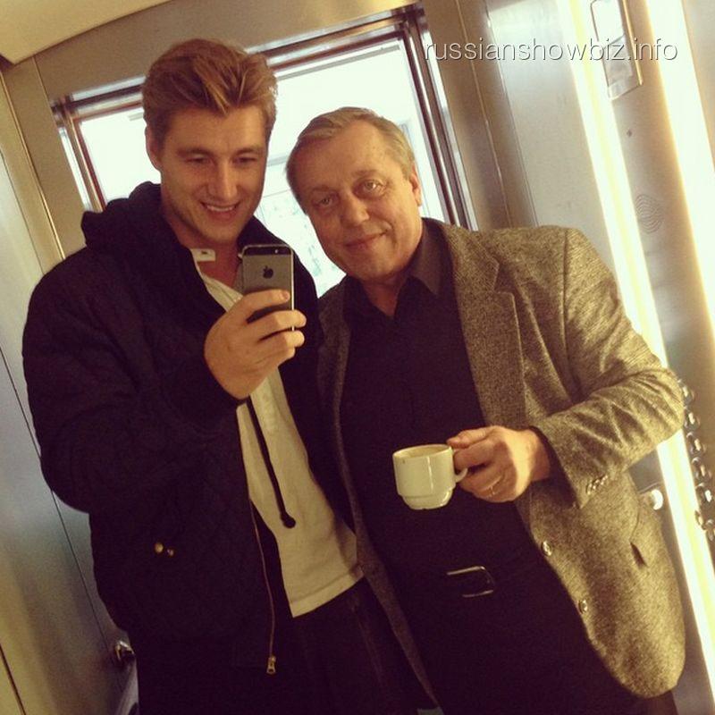 Алексей Воробьев с отцом