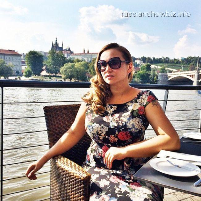 Анфиса Чехова в Праге
