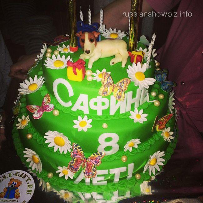 Праздничный торт Алсу