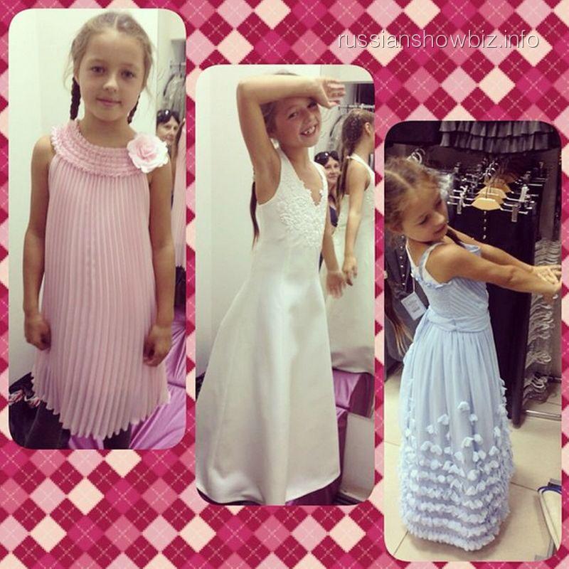 Ариша в платьях от Яны Шевченко