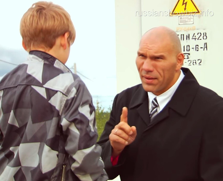 Николай Валуев в социальной рекламе