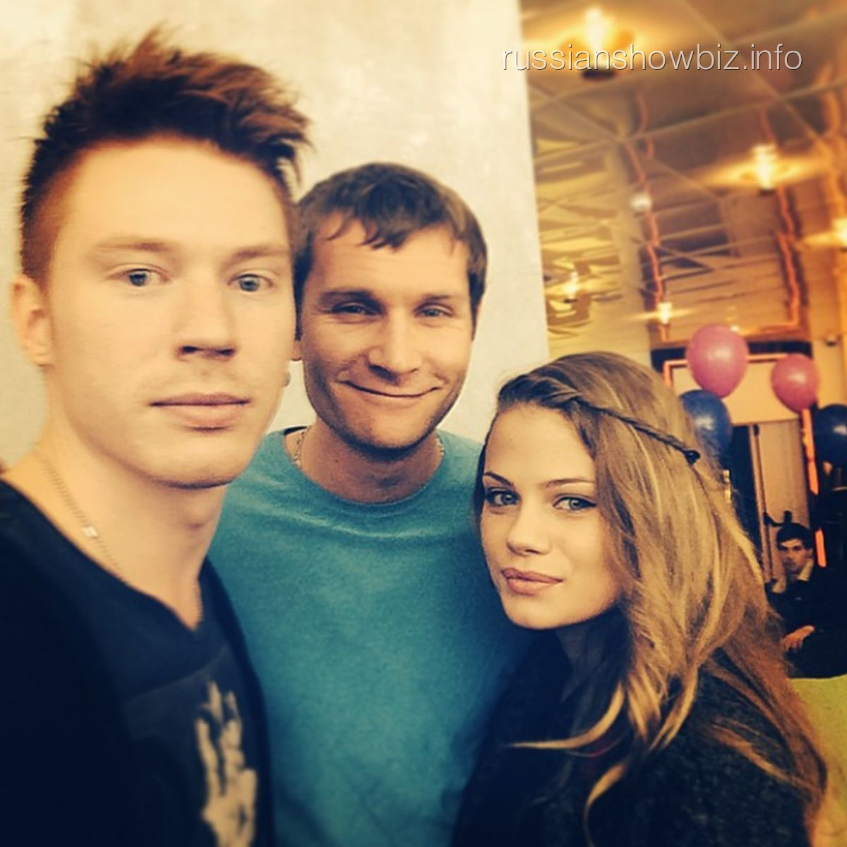 Никита Пресняков, Николай Наумов и Алена Краснова
