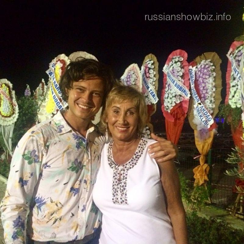 Прохор Шаляпин с женой
