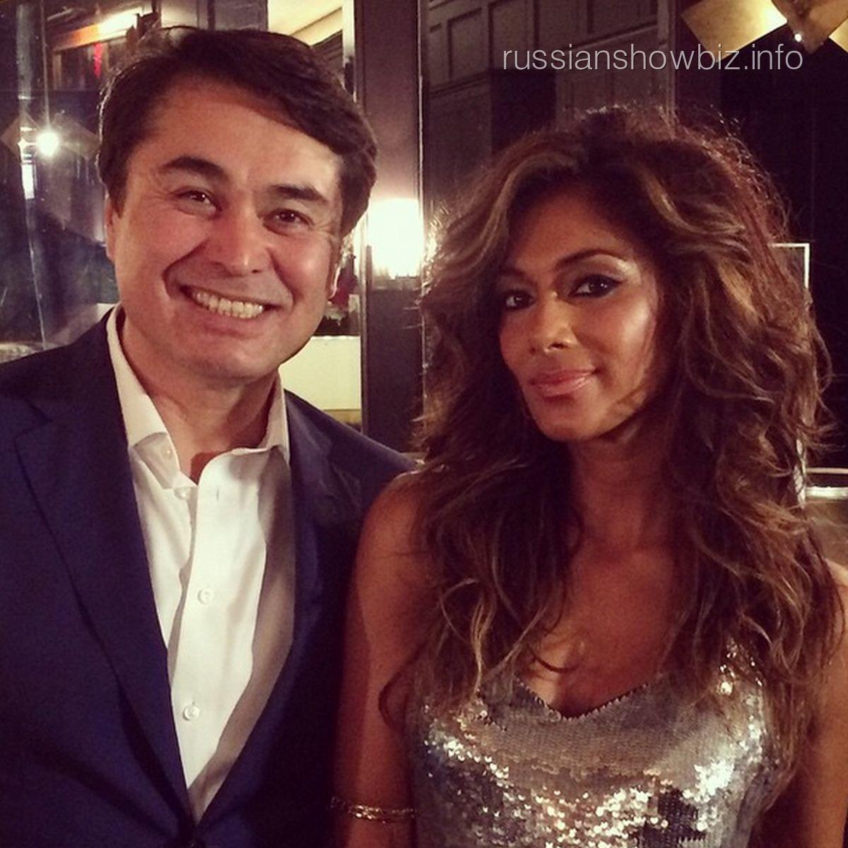Арман Давлетьяров и Николь Шерзингер