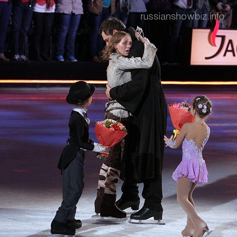 Кристина Асмус и Алексей Тихонов