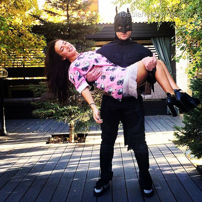 Ольга Серябкина и Бэтмен