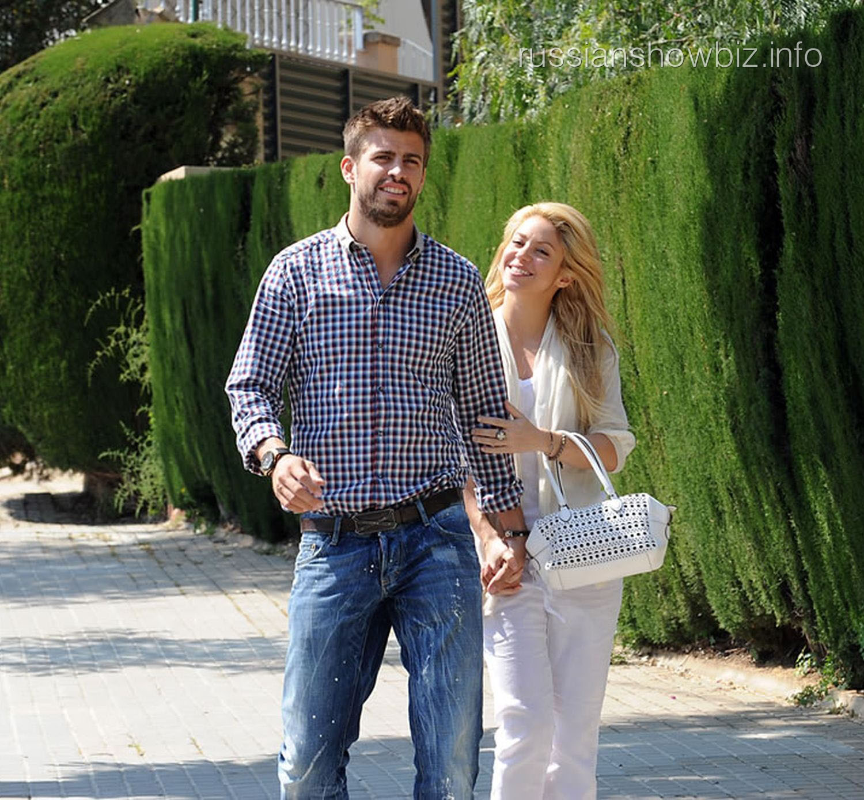 Шакира с мужем