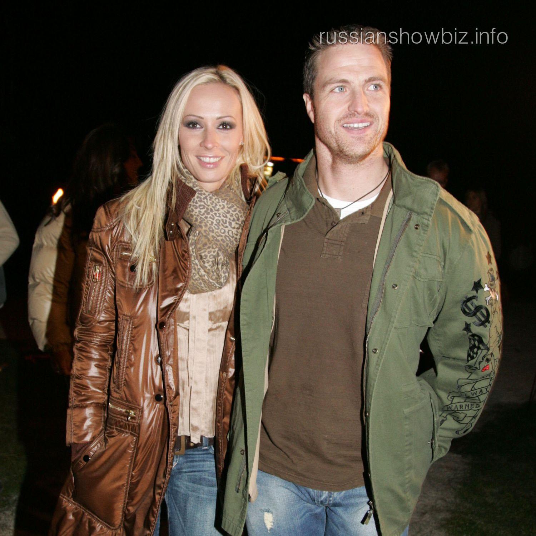 Ральф Шумахер с женой