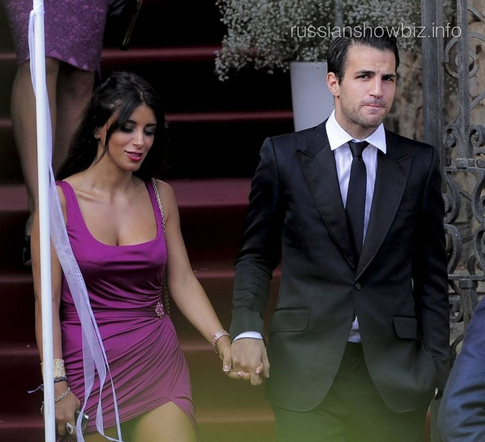 Сеск Фабрегас и Даниэла Симаан