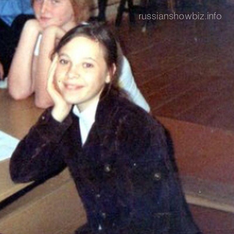 Светлана Курицына в детстве