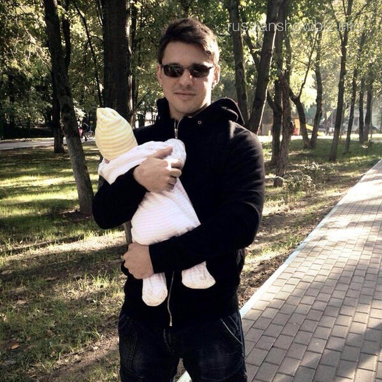 Алексей Кабанов с дочкой