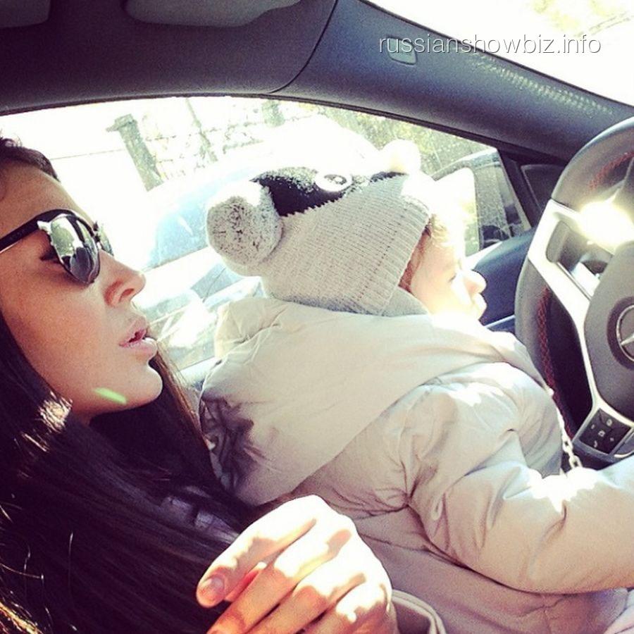 Таня Тершина с дочкой