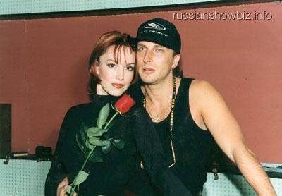 Дмитрий Нагиев и Анна Самохина