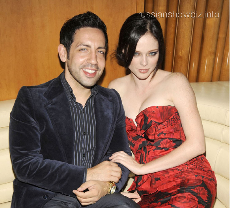 Коко Роша с мужем