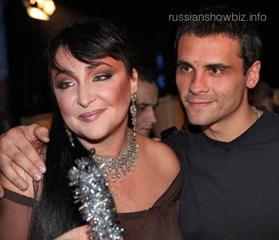 Лолита Милявская с мужем