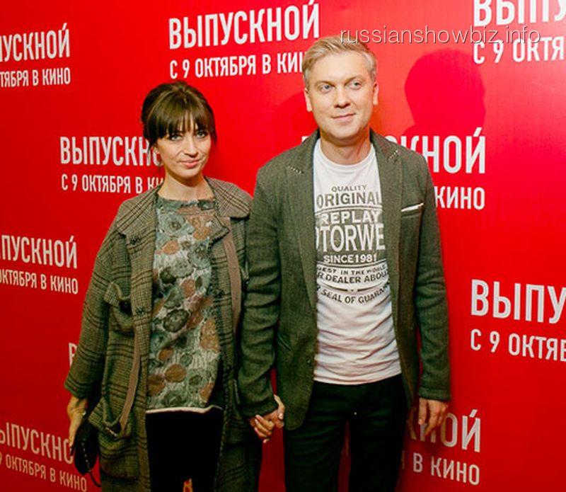 Сергей Светлаков с спругой Антониной