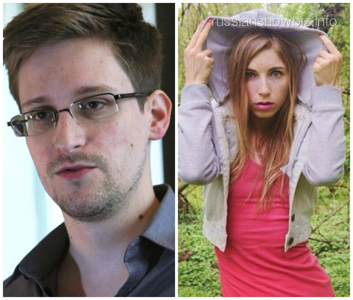 Эдвард Сноуден и Линдси Миллс