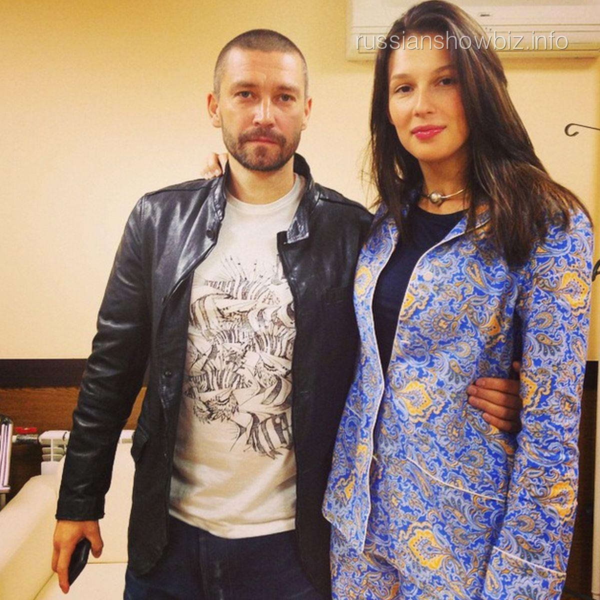 Владимир Кристовский с супругой Ольгой