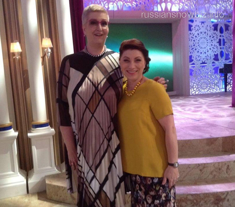 Татьяна Устинова и Роза Сябитова