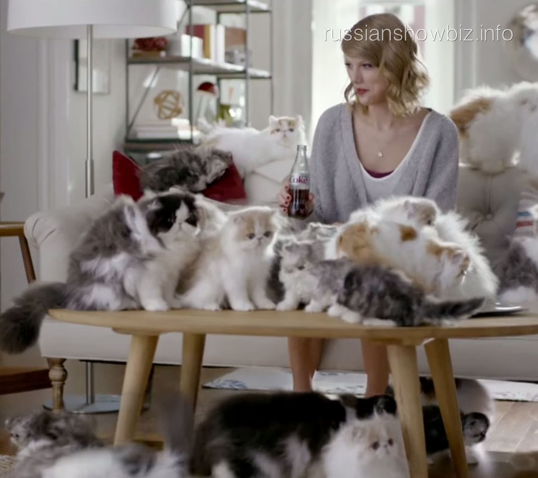 Тейлор Свифт в рекламе Coca-Cola