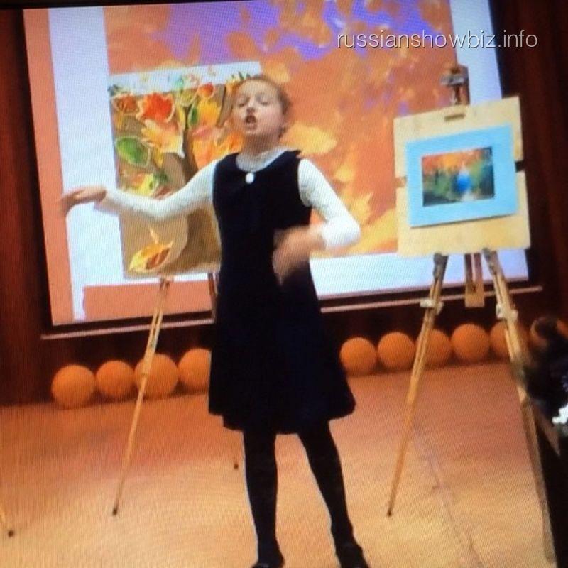Дочь Анатсасии Волочковой на чтениях