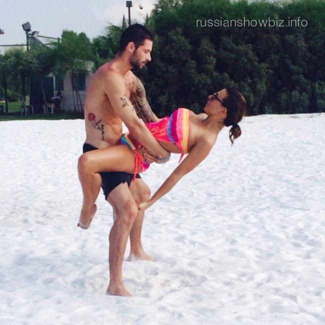 Анна Седокова с возлюбленным