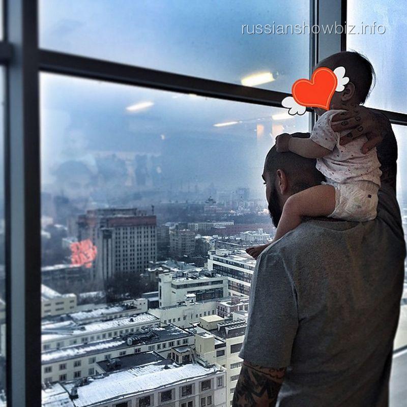 Тимати с дочкой