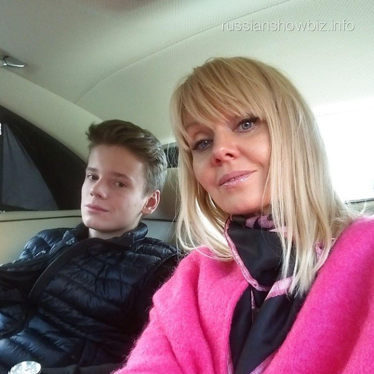 Валерия с сыном