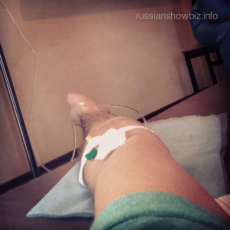 Иракли в больнице