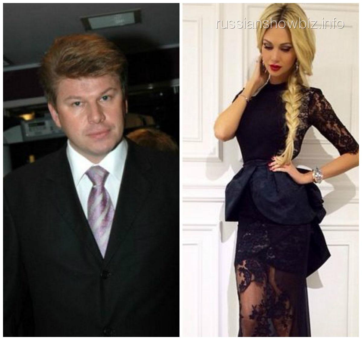 Дмитрий Губерниев и Виктория Лопырева