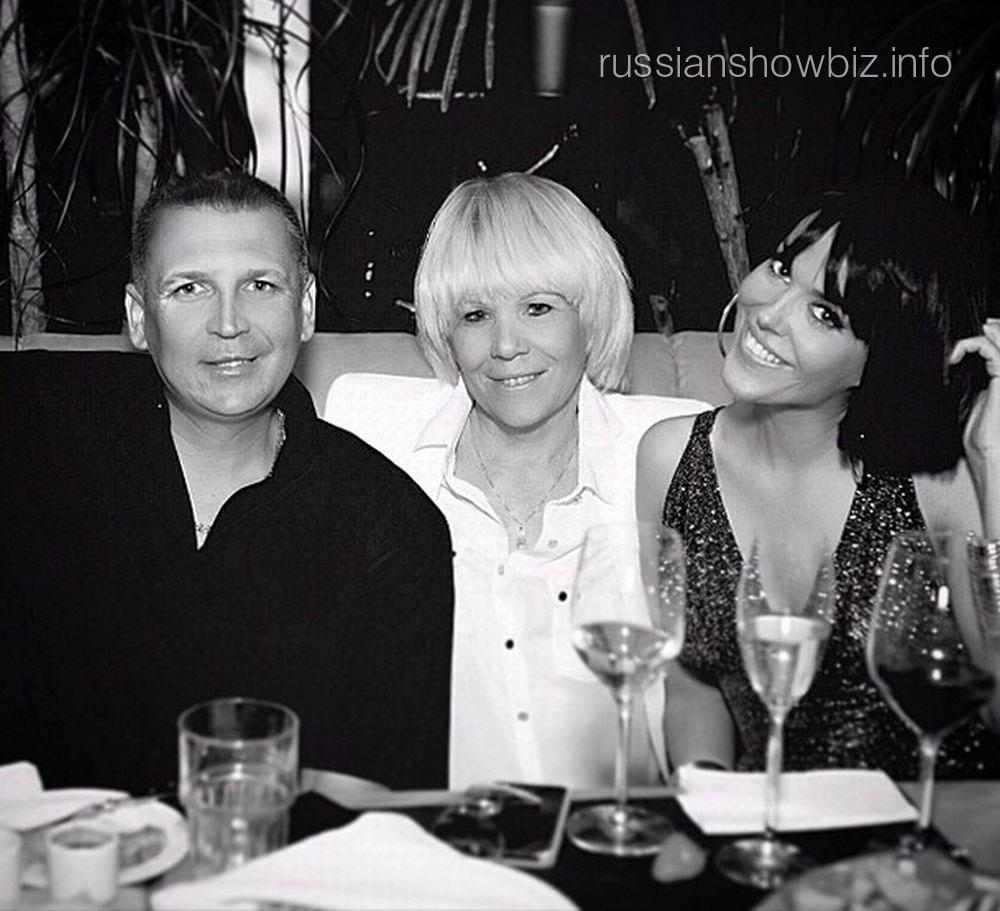 Татьяна Терешина с братом и мамой
