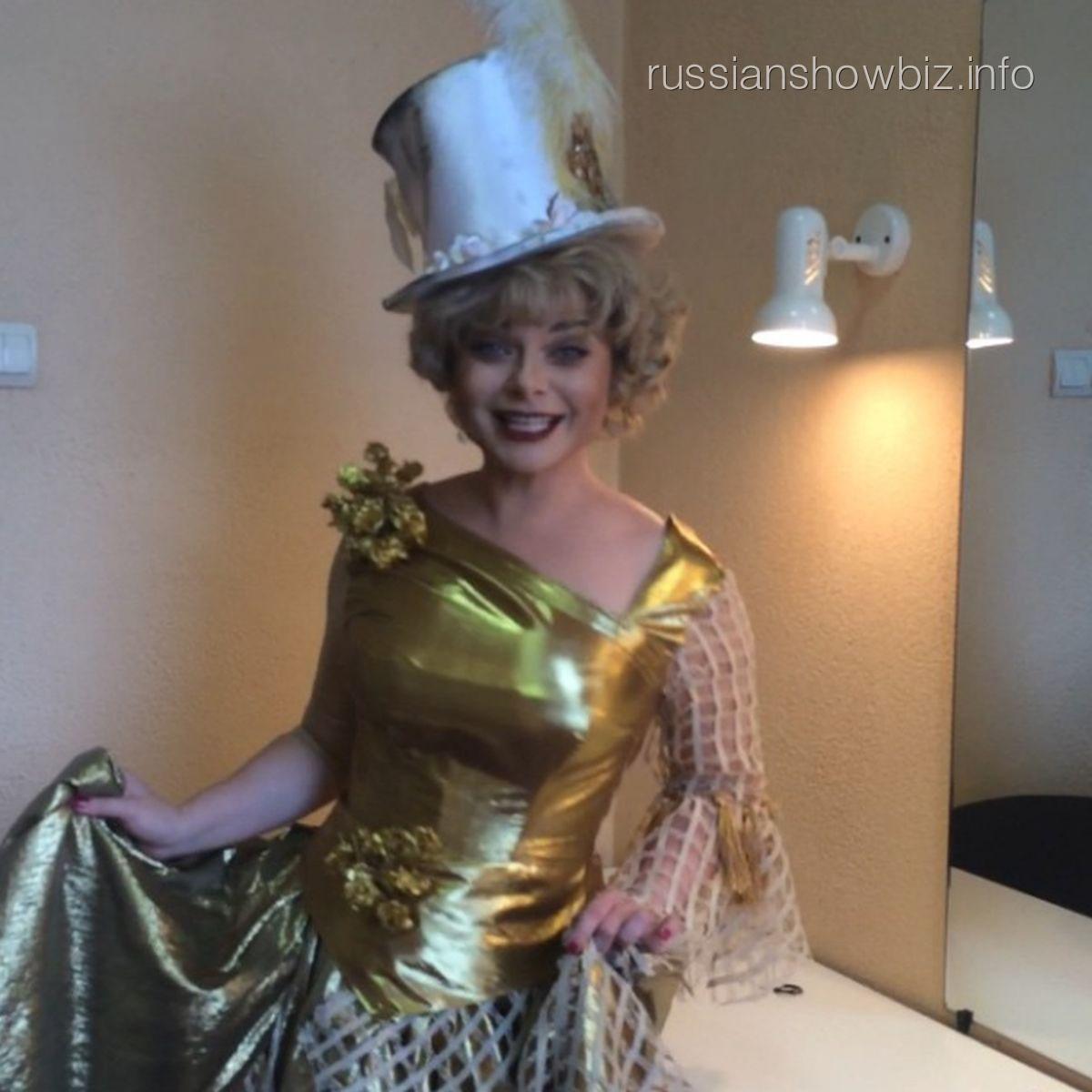 Наташа Королева в образе Любови Орловой