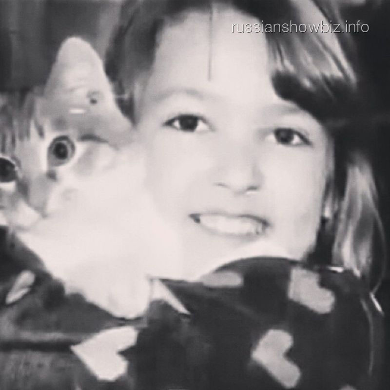Ирина Дубцова в детстве