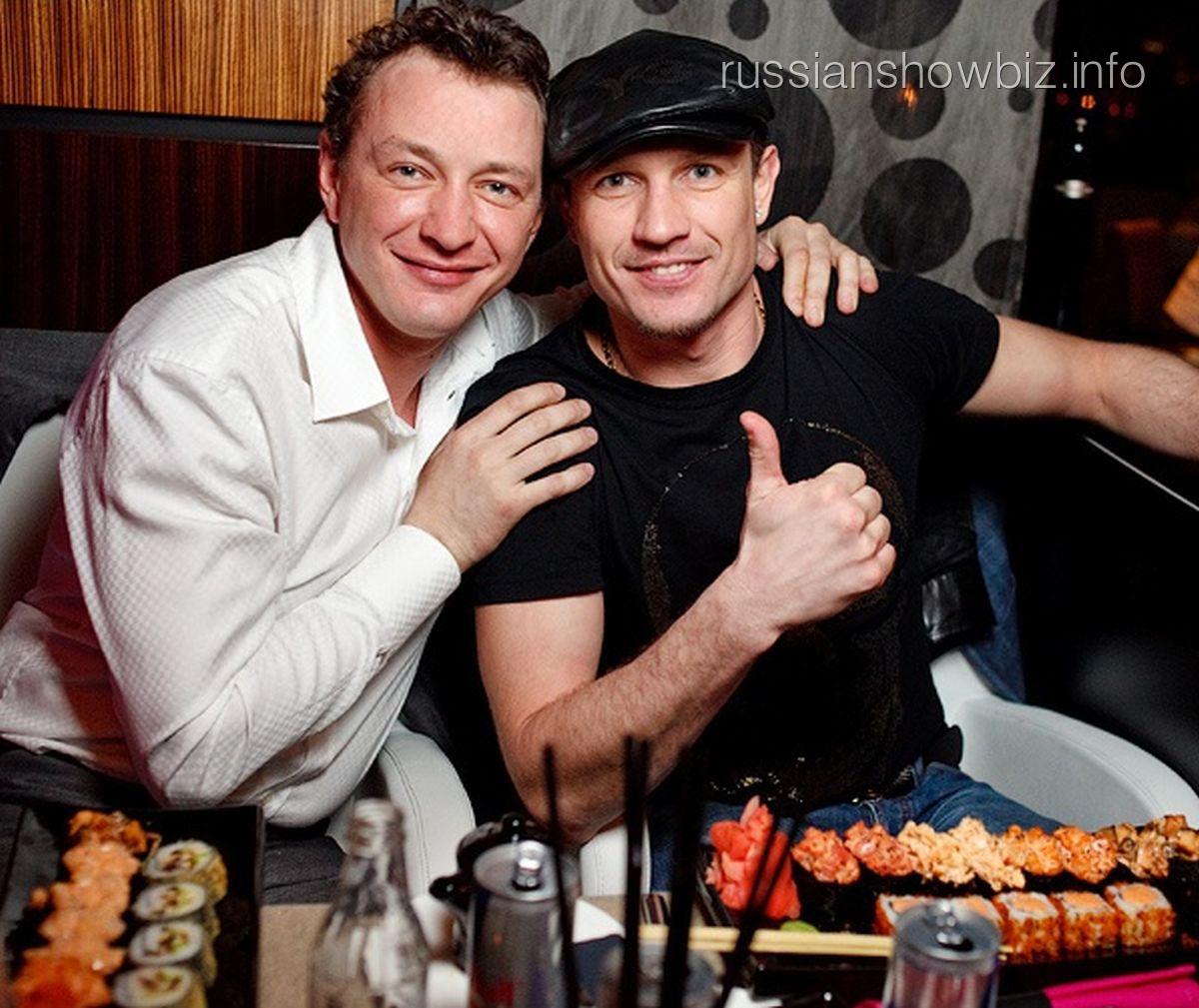 Марат Башаров и Роман Костомаров
