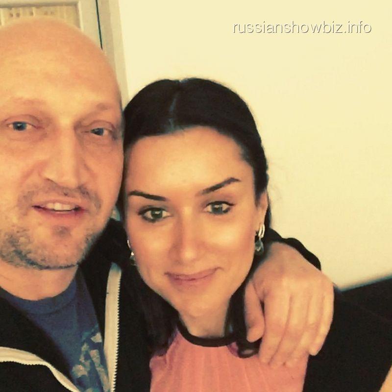 Гоша Куценко и Тина Канделаки