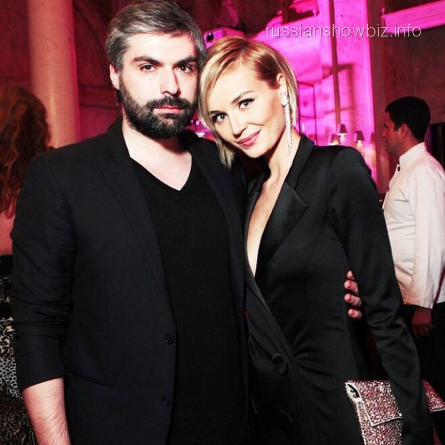 Полина Гагарина с мужем