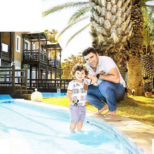 Гурам Баблишвили с сыном