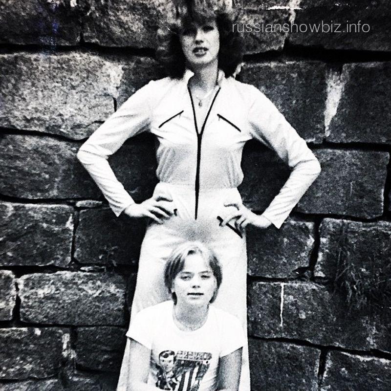 Владимир Пресняков с мамой