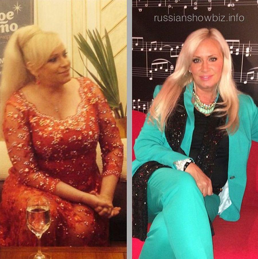 Наталья Гулькина до и после