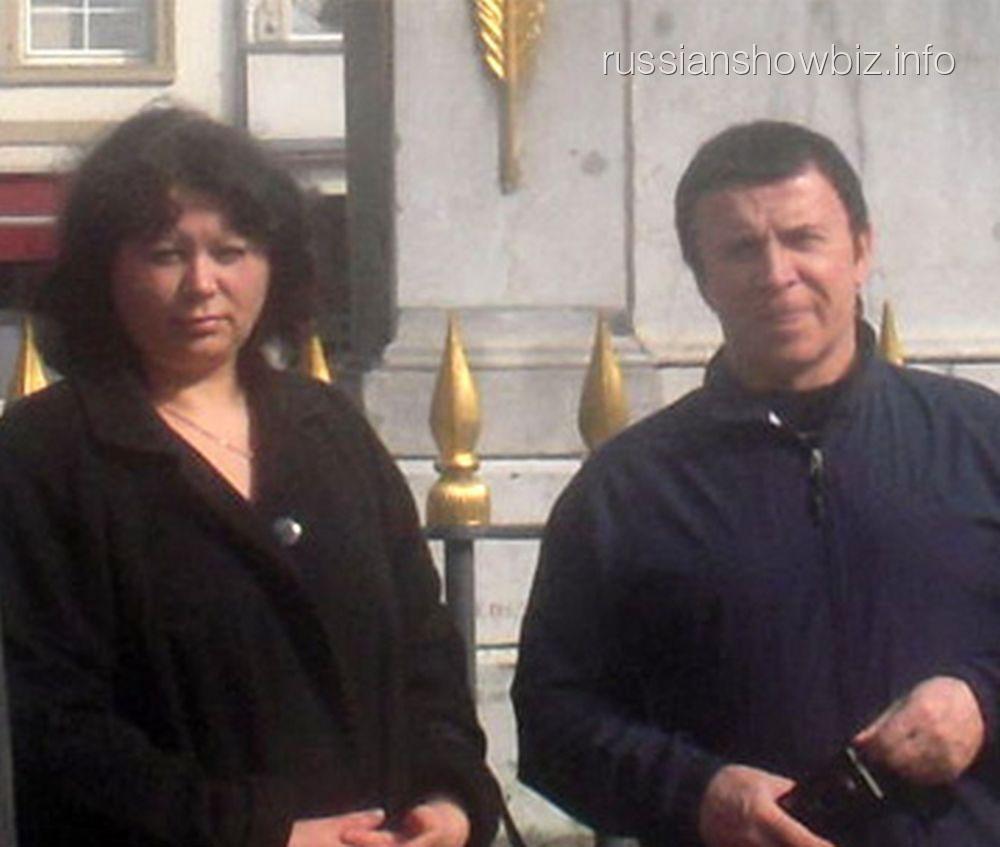 Анатолий Кашпировский с бывшей женой Ириной