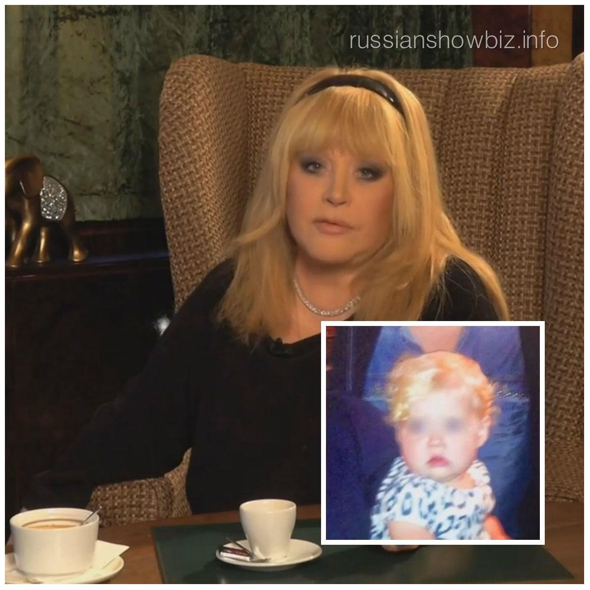 Алла Пугачева и ее дочка Лиза