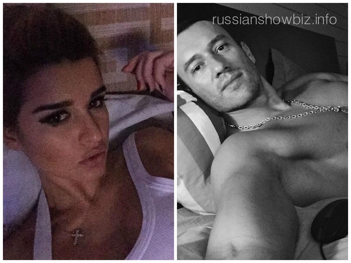 Ксения Бородина и Михаил Терехин в разных постелях