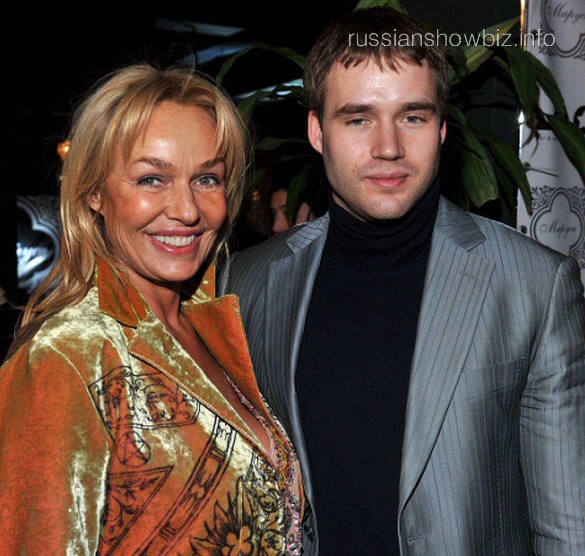 Наталья Андрейченко с сыном