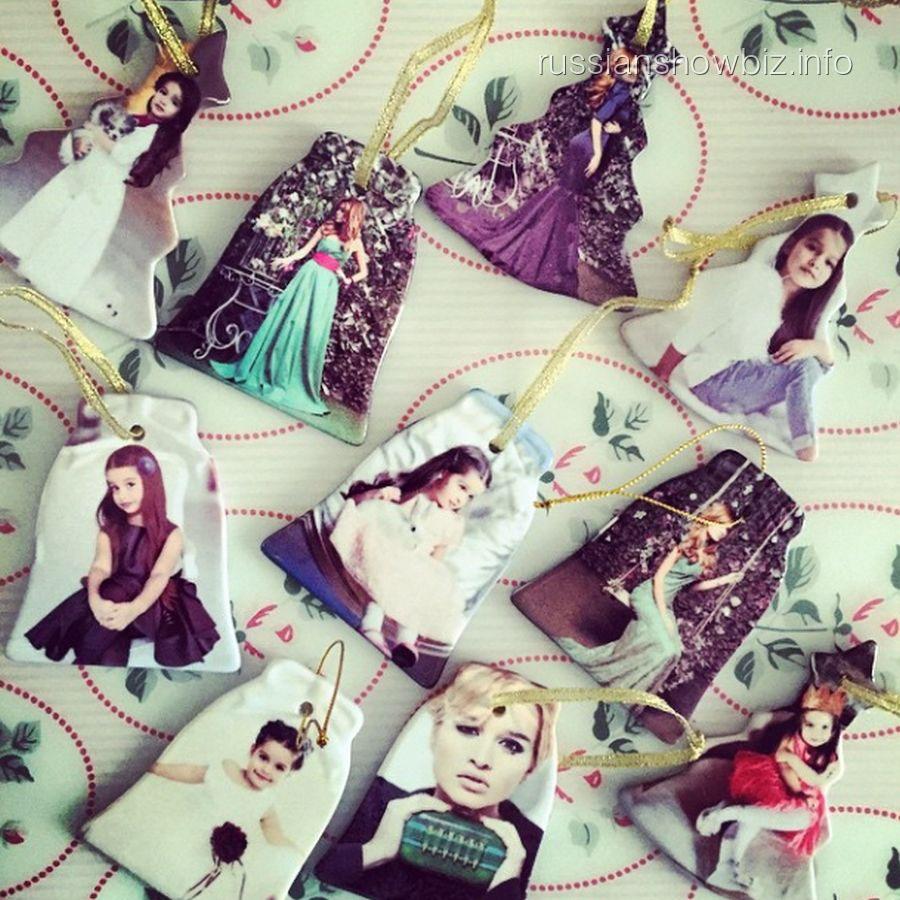 Елочные игрушки Ксении Бородиной