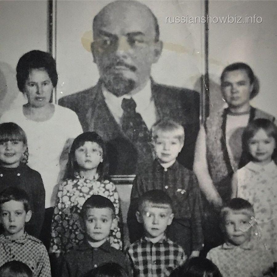 Владимир Пресняков в младших классах