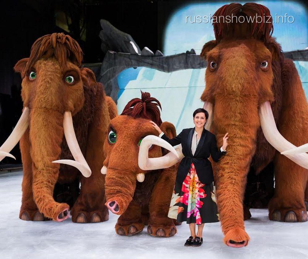 Ольга Шелест с мамонтами