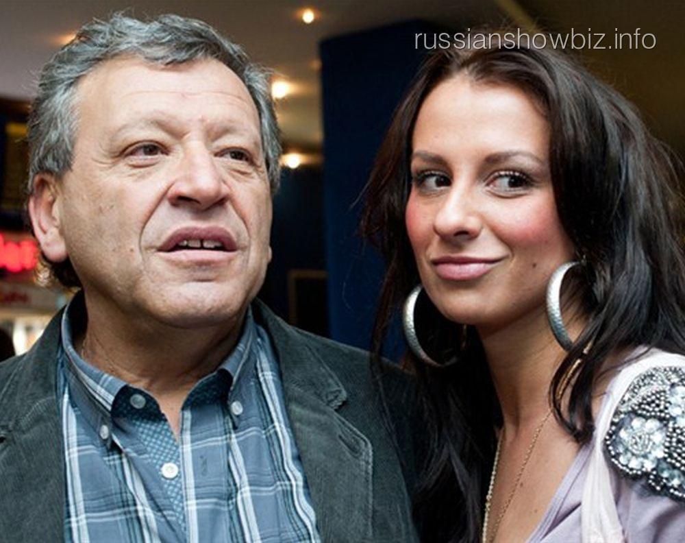 Борис Грачевский с бывшей женой Анной
